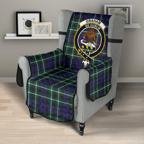 Graham of Montrose Modern Tartan Clan Badge Sofa Protector K7