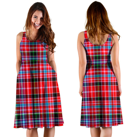 Aberdeen District Plaid Women's Dress