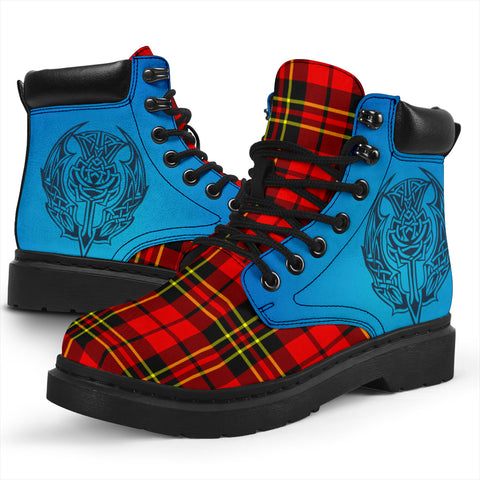 Brodie Modern Tartan All-Season Boots - Celtic Thistle TH8