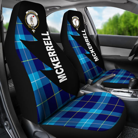 McKerrell Clans Tartan Car Seat Covers - Flash Style - BN