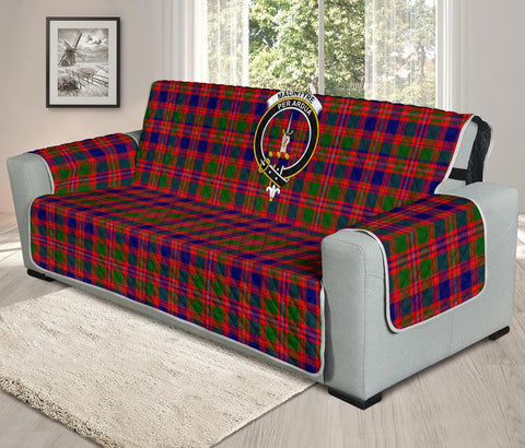 Image of MacIntyre Modern Tartan Clan Badge Oversized Sofa Protector K7