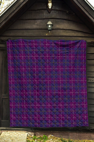 Pride of Glencoe Tartan Premium Quilt TH8