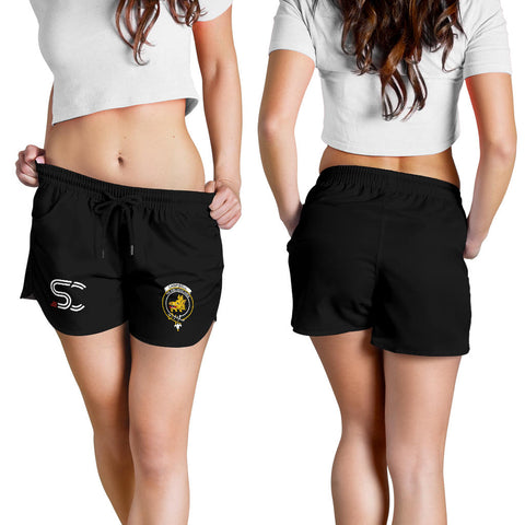 Image of Campbell Faded Clan Badge Women's Shorts TH8