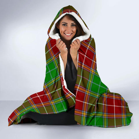 Image of Baxter Clans Tartan Hooded Blanket - BN