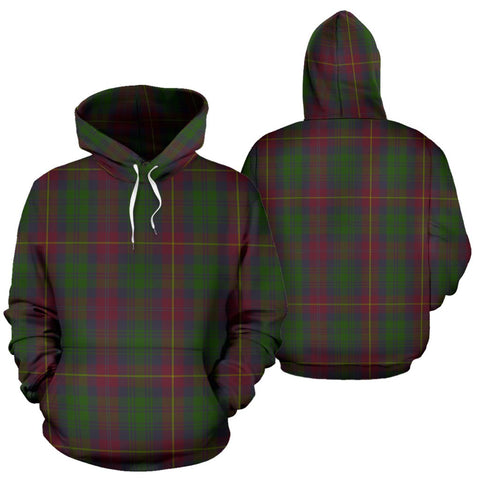 Image of Cairns Tartan Hoodie, Scottish Cairns Plaid Pullover Hoodie
