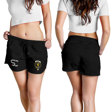Image of Cumming Hunting Weathered Clan Badge Women's Shorts TH8
