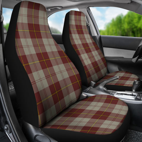 Cunningham Burgundy Dancers  Tartan Car Seat Covers K7
