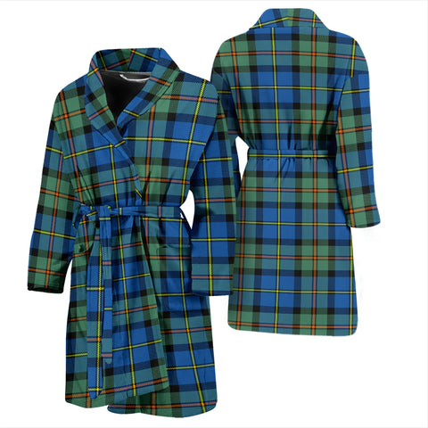 MacLeod Of Harris Ancient Tartan Mens Bathrobe - BN