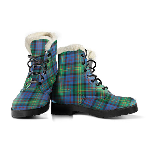 Bowie Ancient Tartan Boots For Women
