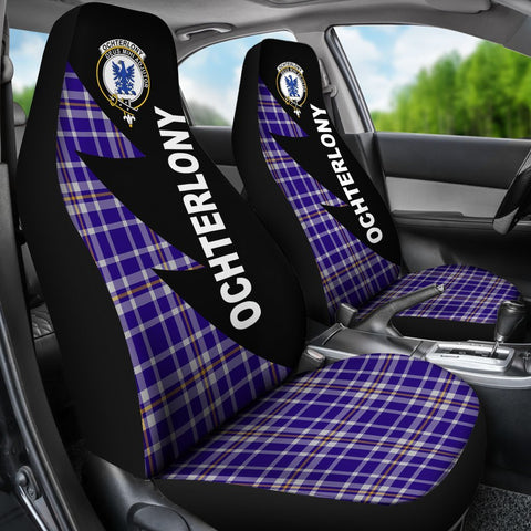 Image of Ochterlony Clans Tartan Car Seat Covers - Flash Style - BN