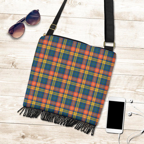 Buchanan Ancient Tartan Boho Handbag K7
