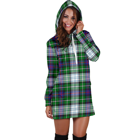 MacKenzie Dress HJ4 Modern Tartan Hoodie Dress HJ4