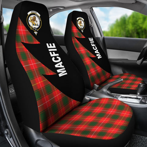 MacFie Clans Tartan Car Seat Covers - Flash Style - BN