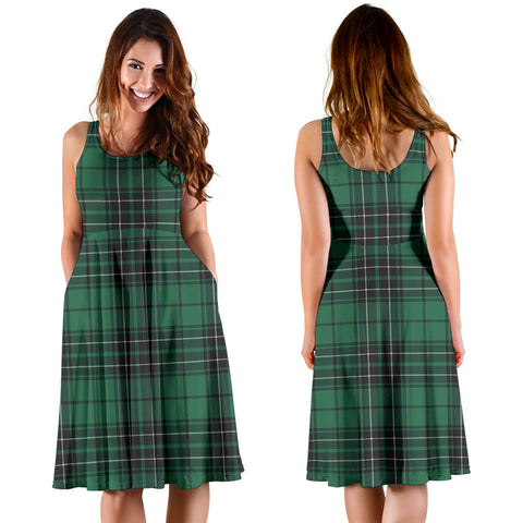 MacLean Hunting Ancient Plaid Women's Dress