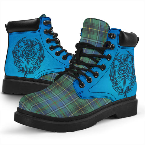 Macinnes Ancient Tartan All-Season Boots - Celtic Thistle TH8