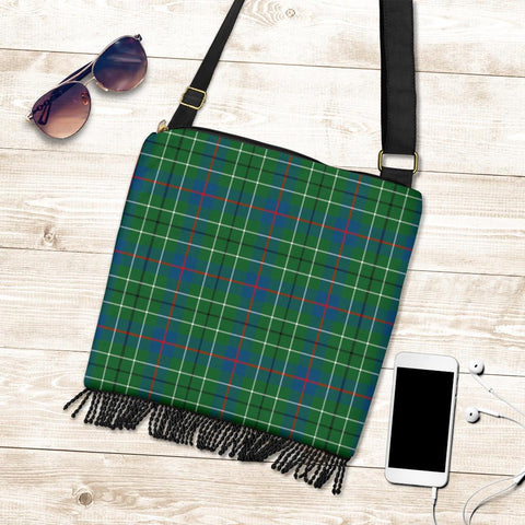 Image of Duncan Ancient Tartan Boho Handbag K7