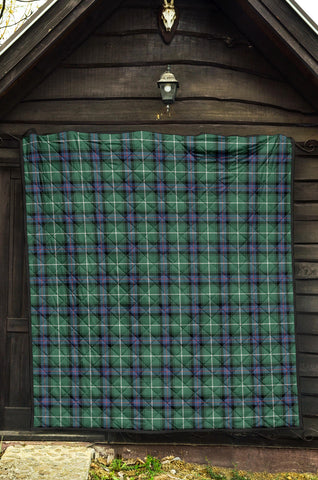 MacDonald of the Isles Hunting Ancient Tartan Premium Quilt TH8