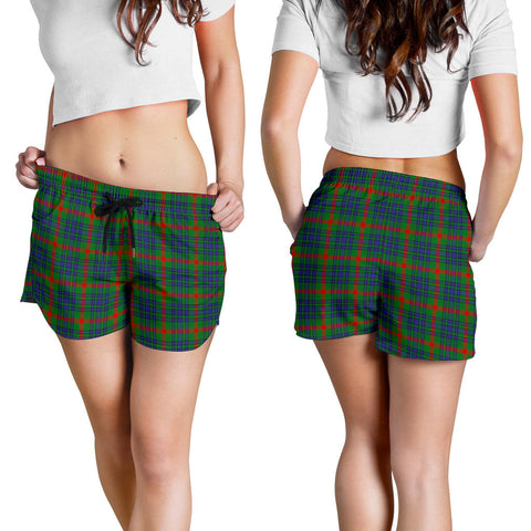 Image of Aiton Tartan Shorts For Women