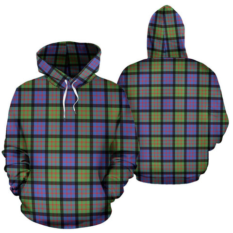 Macdonald Ancient Tartan Hoodie, Scottish Macdonald Ancient Plaid Pullover Hoodie