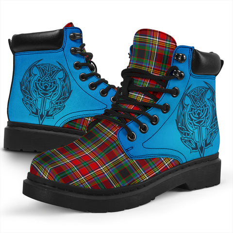Anderson Of Arbrake Tartan All-Season Boots - Celtic Thistle TH8