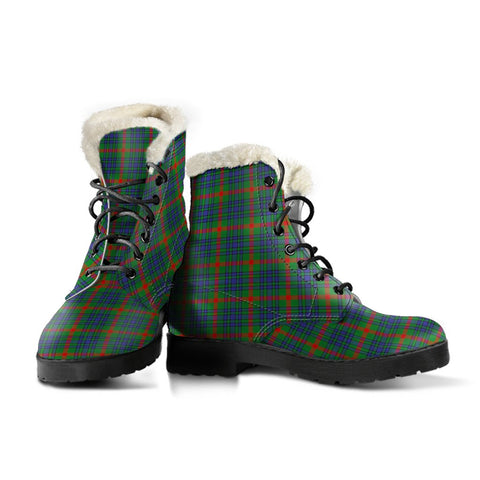 Aiton Tartan Boots For Women