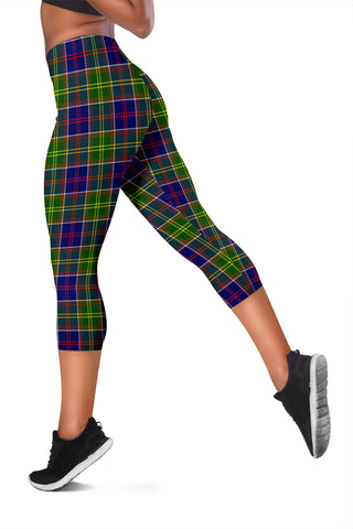 Ayrshire District Tartan Capris Leggings