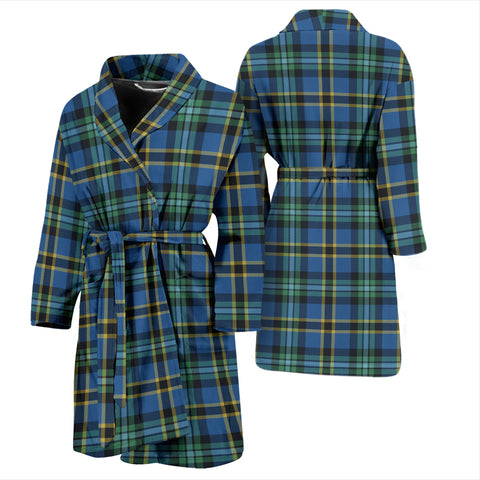 Image of Weir Ancient Tartan Mens Bathrobe - BN