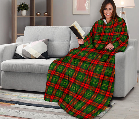 Image of Blackstock Tartan Clans Sleeve Blanket K6