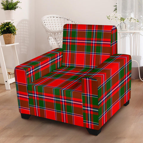 Spens Modern Tartan Chair Slip Cover K6