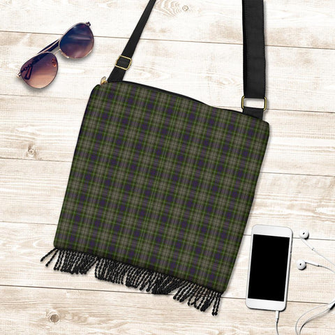 Image of Davidson Tulloch Dress Tartan Boho Handbag K7