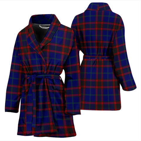 Home Modern Tartan Womens Bathrobe - BN
