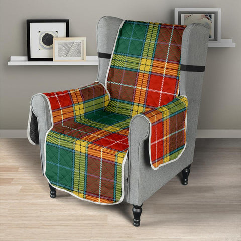 Buchanan Old Sett Tartan Chair Sofa Protector K7