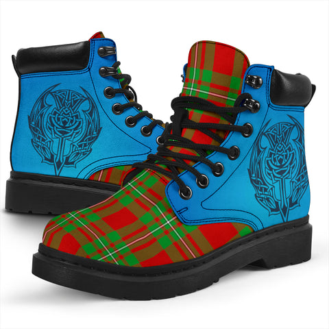 Macgregor Modern Tartan All-Season Boots - Celtic Thistle TH8