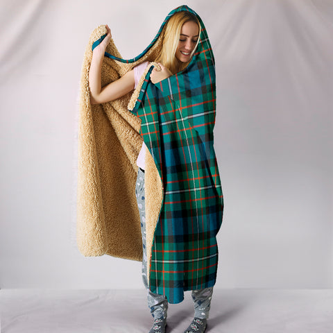 FERGUSON ANCIENT, hooded blanket, tartan hooded blanket, Scots Tartan, Merry Christmas, cyber Monday, xmas, snow hooded blanket, Scotland tartan, woven blanket