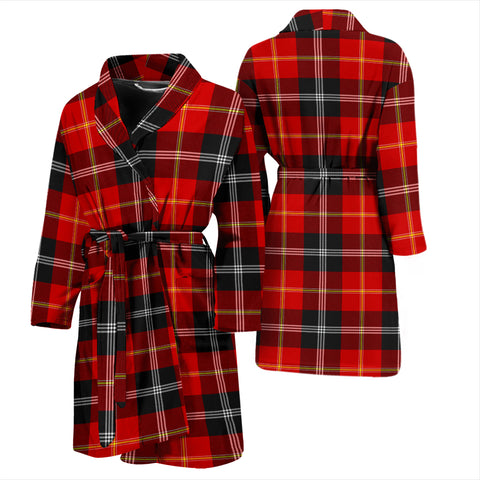 Marjoribanks Tartan Mens Bathrobe - BN