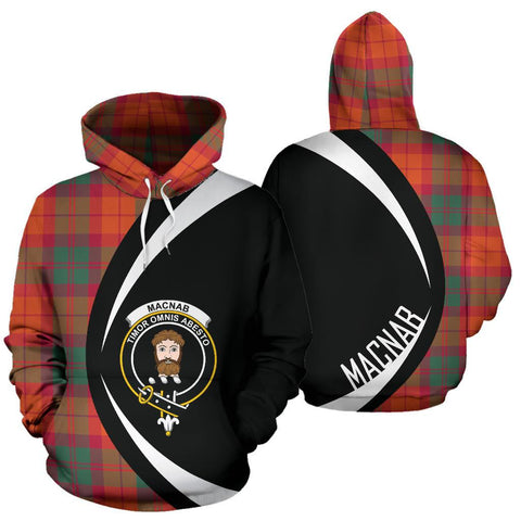 Image of MacNab Ancient Tartan Circle Hoodie HJ4