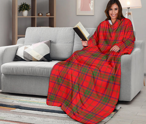 Image of Ross Modern Tartan Clans Sleeve Blanket K6