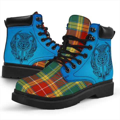 Buchanan Old Sett Tartan All-Season Boots - Celtic Thistle TH8