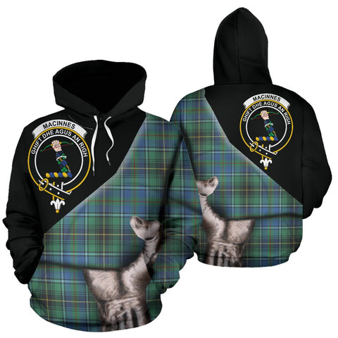 Image of MacInnes Ancient Tartan Hoodie Patronage