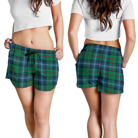 Image of Urquhart Ancient Tartan Shorts For Women