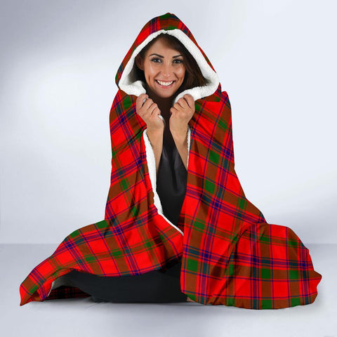 Image of Bain Clans Tartan Hooded Blanket - BN