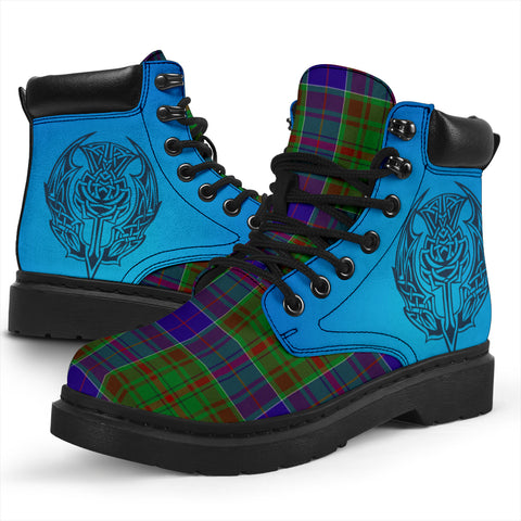Adam Tartan All-Season Boots - Celtic Thistle TH8