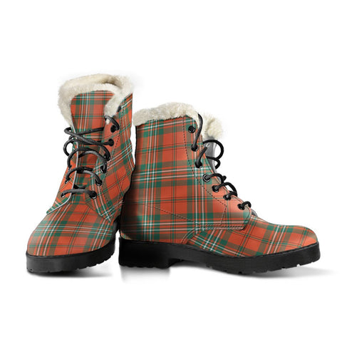 Scott Ancient Tartan Boots For Women