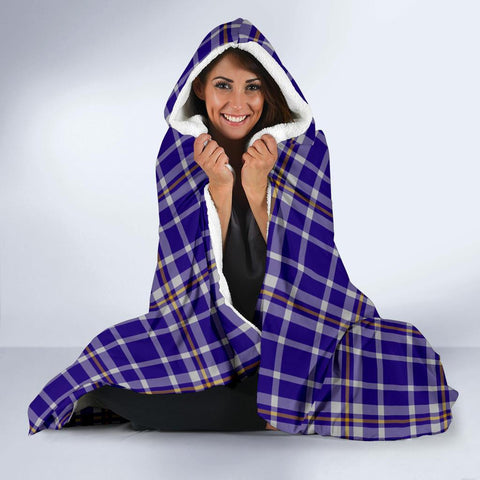Image of Ochterlony Clans Tartan Hooded Blanket - BN