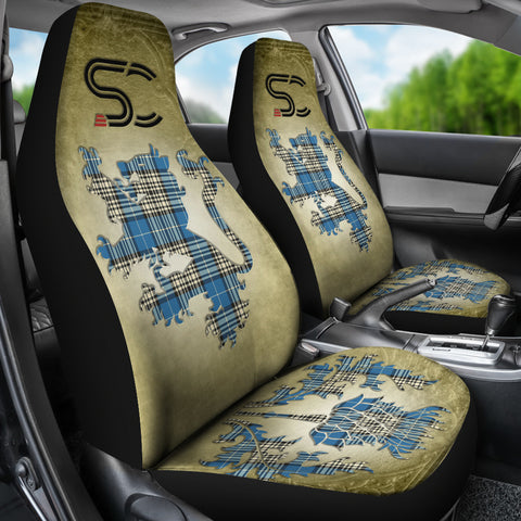 Napier Ancient Tartan Car Seat Cover Lion and Thistle Special Style TH8