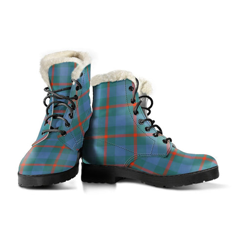 Image of Agnew Ancient Tartan Boots For Women