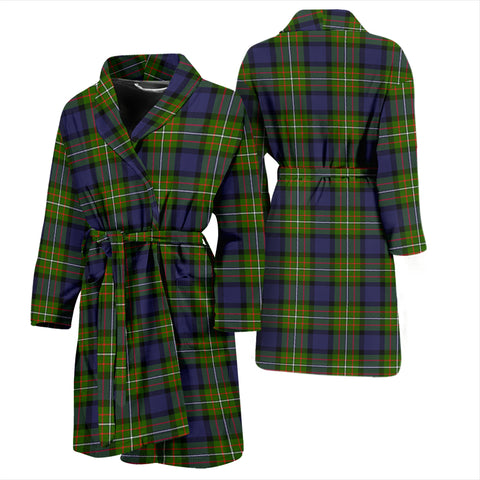 Fergusson Modern Tartan Mens Bathrobe - BN