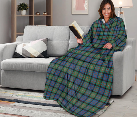 MacDonnell of Glengarry Ancient Tartan Clans Sleeve Blanket K6