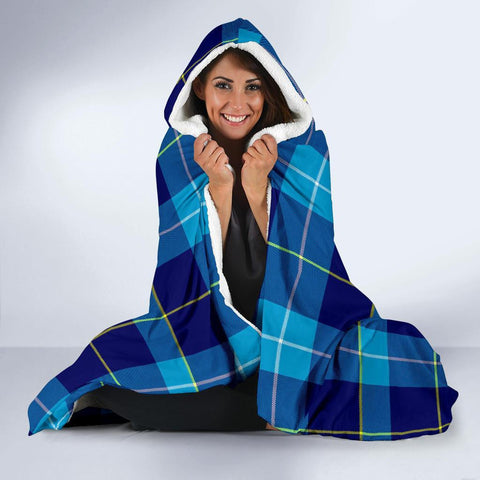 Image of McKerrell Clans Tartan Hooded Blanket - BN