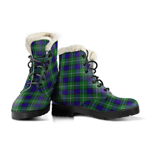 Alexander Tartan Boots For Women